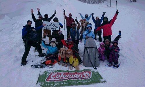outside TOUR × Coleman『スノーシューツアー 2020年2月9日』開催